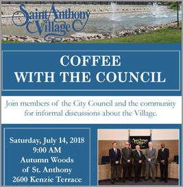 coffee with the council july