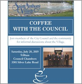 July 2019 coffee with the council with photo
