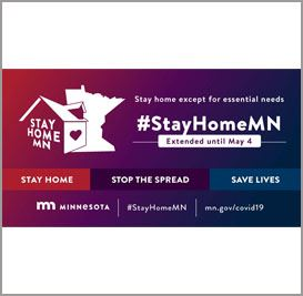 stay home mn newsflash extended