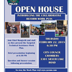 police open house-collaborative reform