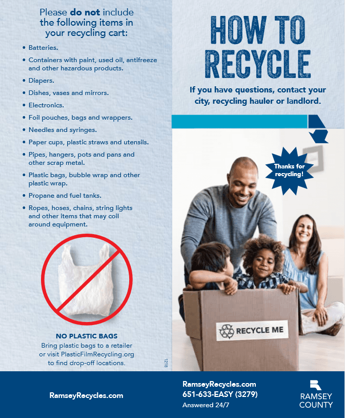 Ramsey County Do Not Recycle